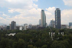 Bosque y Paseo Reforma