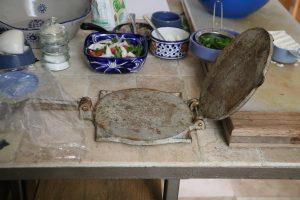 Ustensile à tortillas