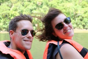 Hugues et Lea Canyon